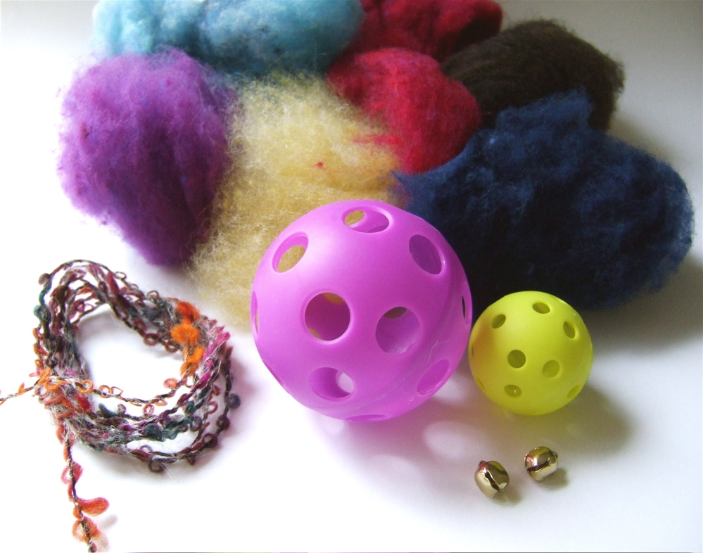 Easy To Make Felted Cat Toy