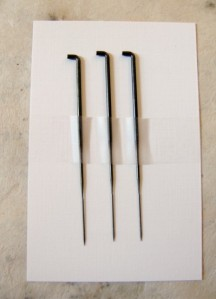 Needles for felting