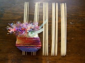 Bamboo Knitting Needle Sets of 5, sizes 0 -4
