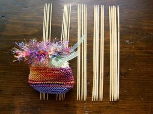Bamboo Knitting Needle Sets of 5, sizes 0 -4