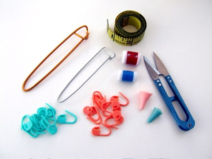 Knitting Accessory Kit. some tools.