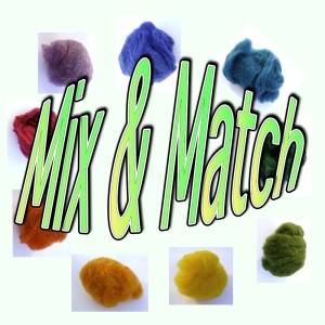 Mix & Match Your Roving
